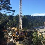 La Honda, Ca (Bay Area) Landslide Investigation. Downhole Logging (2)