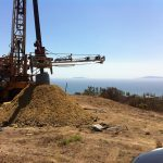 Ventura, Ca. Downhole logging. Geologic investigation for new development