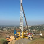 Yorba Linda, Ca. Downhole Logging. Geologic investigation for new development